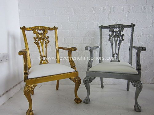 Chippendale American Carver Chair